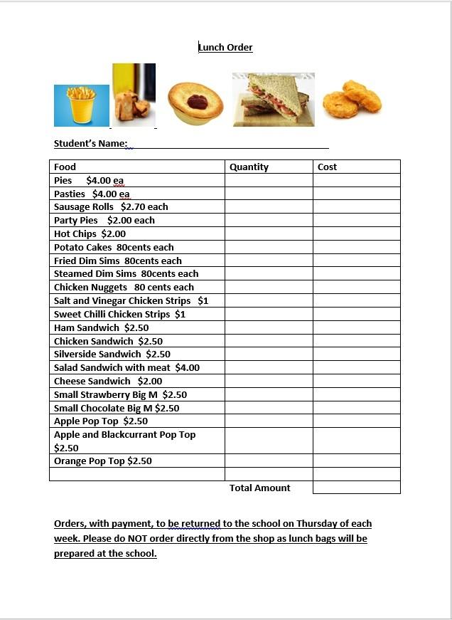 milkbar menu